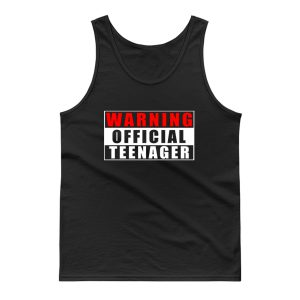 Warning Official Teenager Tank Top