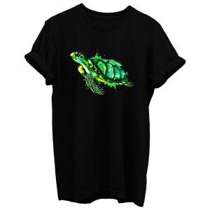 Watercolor Sea Turtle Green Sea Turtle T Shirt