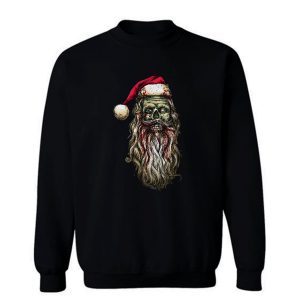 Zombie Santa Claus Sweatshirt