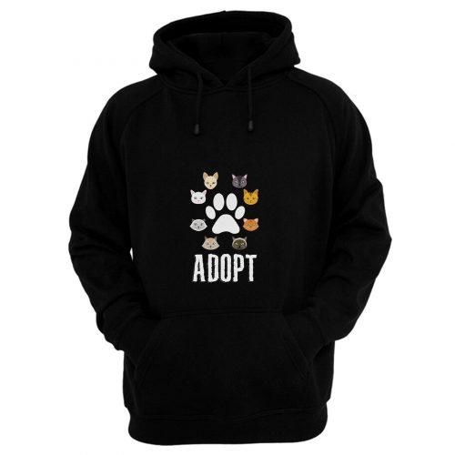Adopt Cat Hoodie