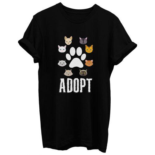 Adopt Cat T Shirt