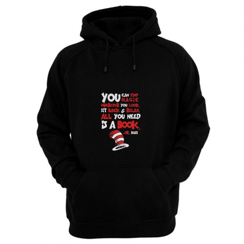 All You Need Is A Book Hoodie