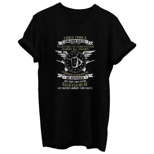 American Solemn Oath T Shirt