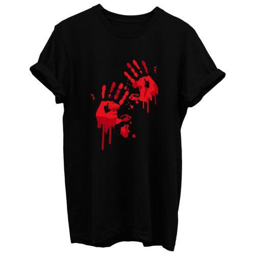 Bloody Handprints T Shirt