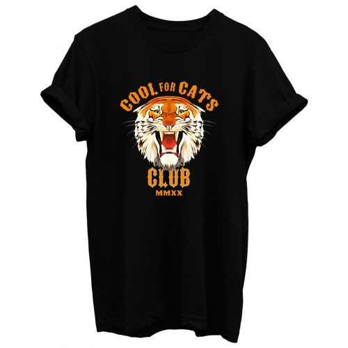 Cool For Cats Club T Shirt