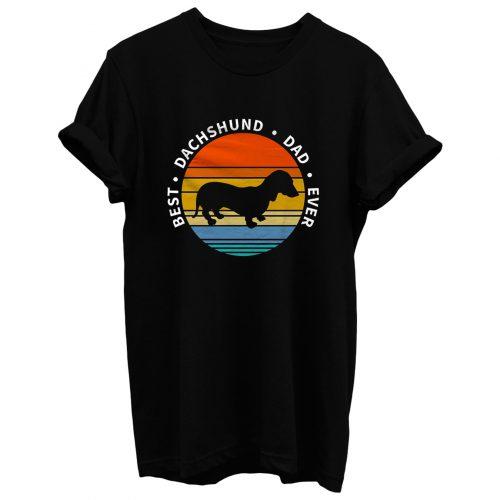 Dachshund Dad T Shirt