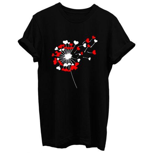 Dandelion Heart T Shirt