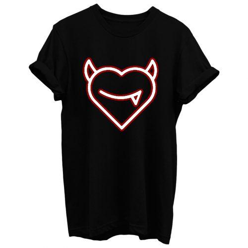Devil Heart T Shirt