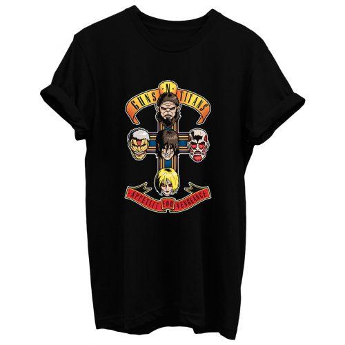 Guns Ntitans T Shirt