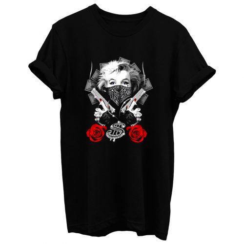 Marilyn Gangsta T Shirt