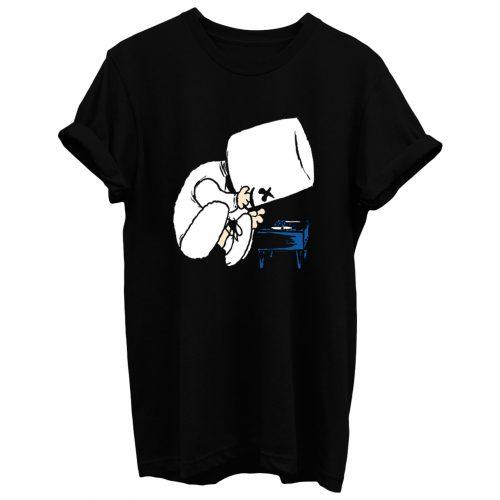 Marshmallow Schroeder T Shirt