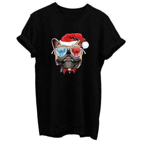 Pug Puppy Dog santa Claus Christmas T Shirt