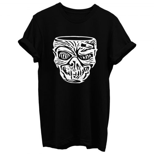 Tiki Zombie Head T Shirt