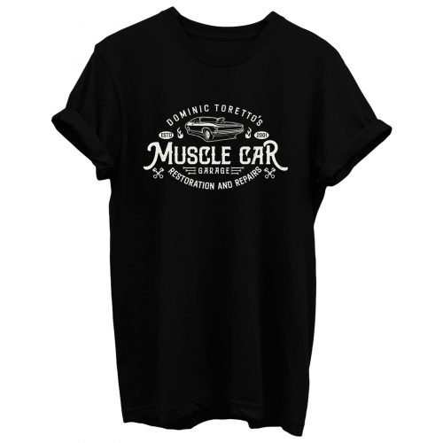 Torettos Muscle Car Garage Repairs T Shirt