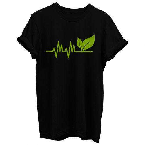 Vegan Heartbeat T Shirt