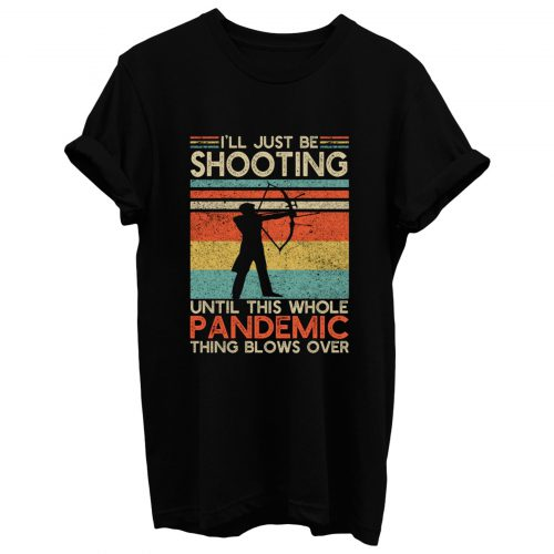 Vintage Bow And Arrow Shooting T Shirt