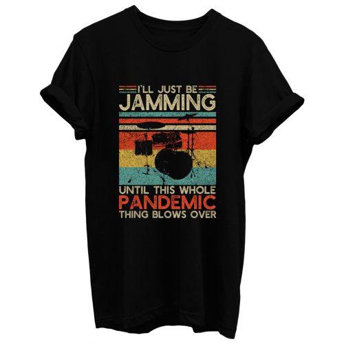 Vintage Drums T Shirt
