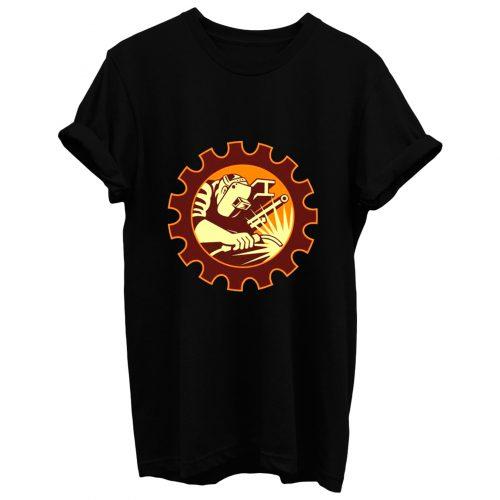 Welder Christmas T Shirt
