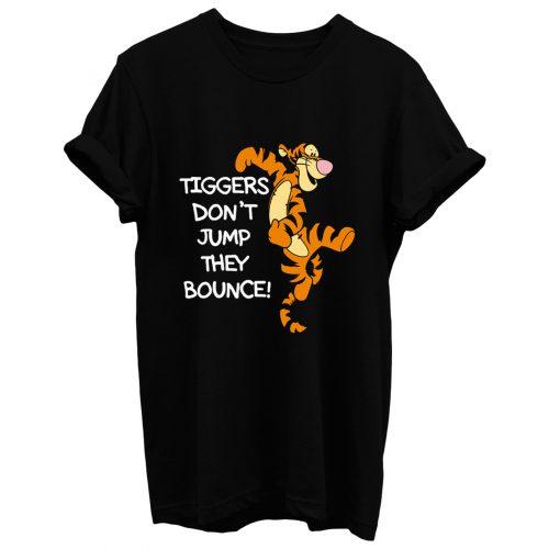 Winnie The Pooh Tigger Quote Cartoon T Shirt