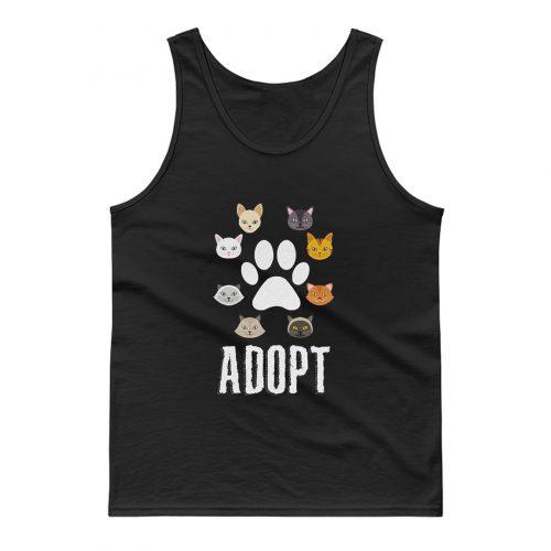 Adopt Cat Tank Top