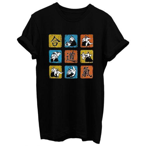 Aikido Art Wall T Shirt
