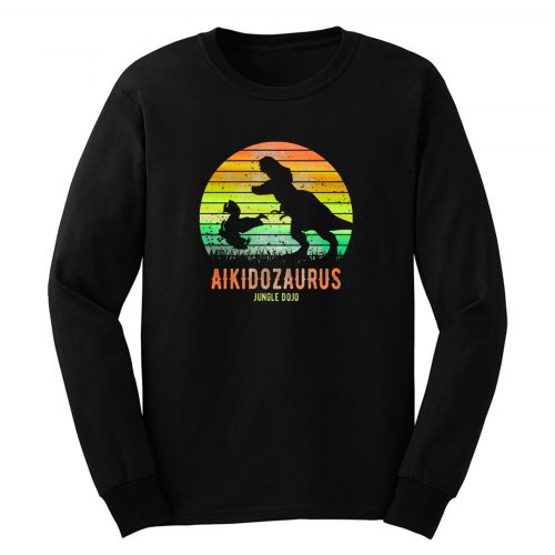 Aikidosaurus Jungle Dojo Long Sleeve