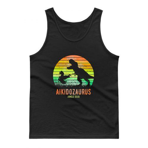 Aikidosaurus Jungle Dojo Tank Top