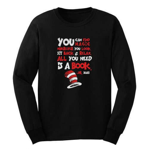 All You Need Is A Book Long Sleeve