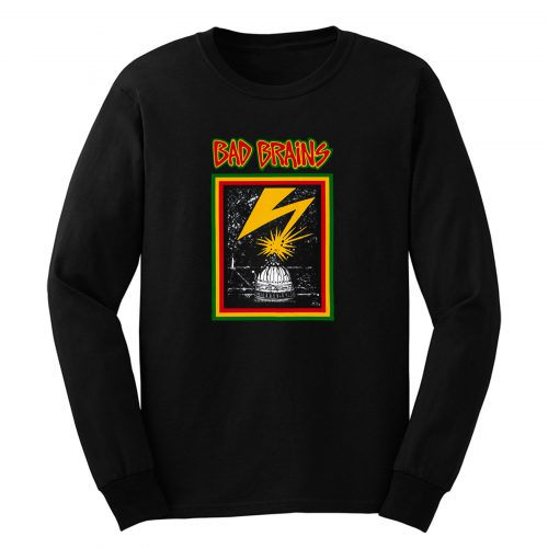 Bad Brains American Hardcore Punk Band Long Sleeve