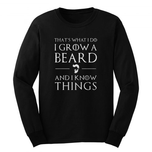 Bearded Man Long Sleeve