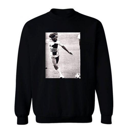 Bob Marley Soccer Sweatshirt