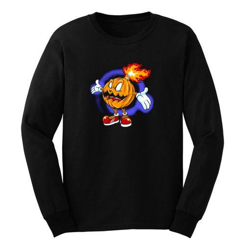 Burning Pumpkin Long Sleeve