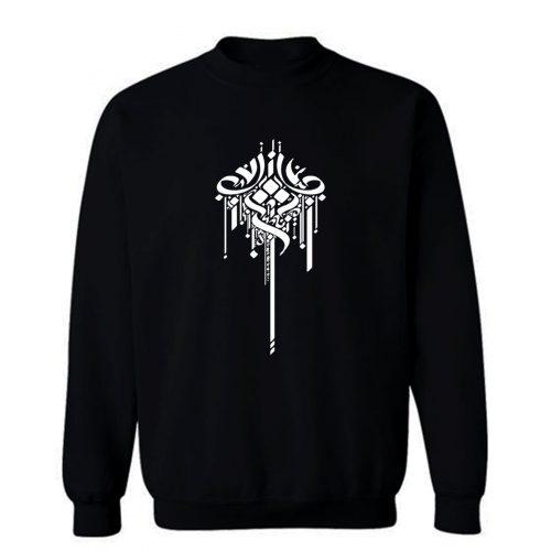 Calligraphy Art Sweatshirt