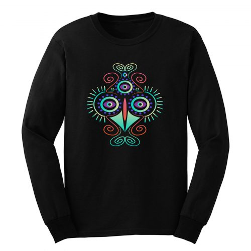 Chicken Abstract Long Sleeve