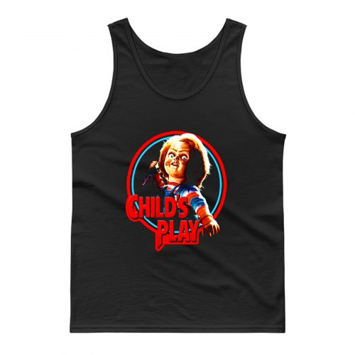 Childs Play Chucky Horror Tank Top
