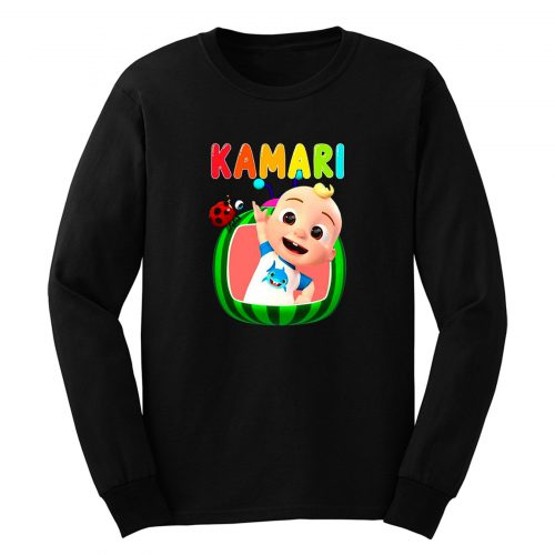 Cocomelon Personalized Birthday Long Sleeve