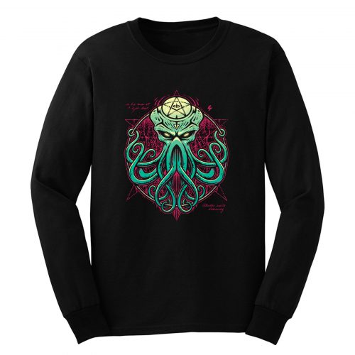 Cthulhu Awakens Long Sleeve