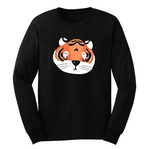 Cute Tiger Long Sleeve