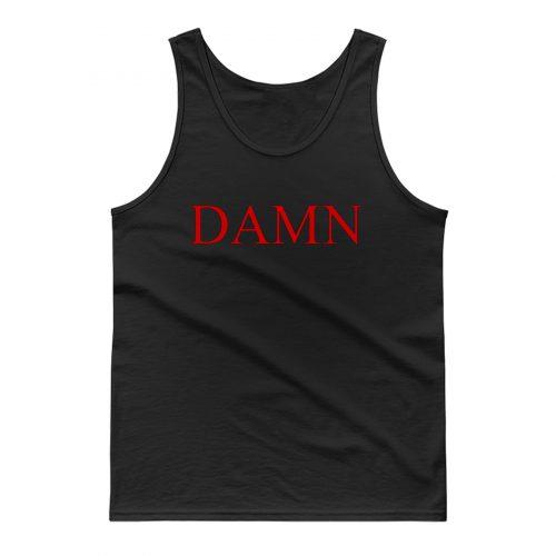 Damn Kendrick Lamar Red Tank Top