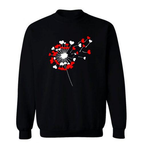Dandelion Heart Sweatshirt