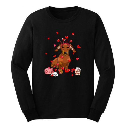 Dog Valentine Long Sleeve