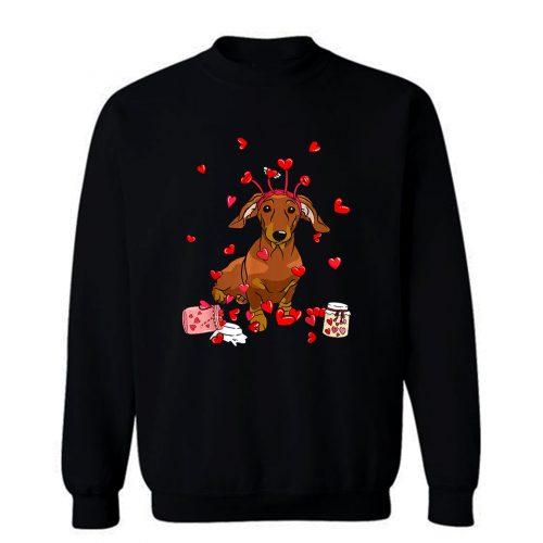 Dog Valentine Sweatshirt