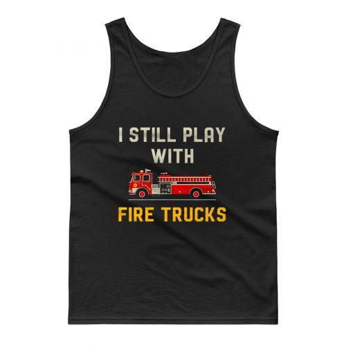 Firefighter Fireman Tank Top