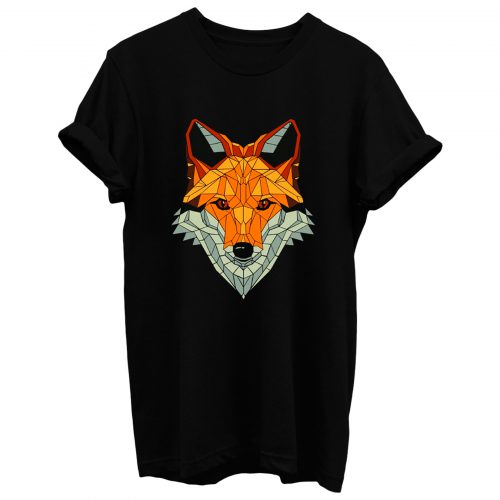 Fox Polygon Red Fox Sweet Forest T Shirt