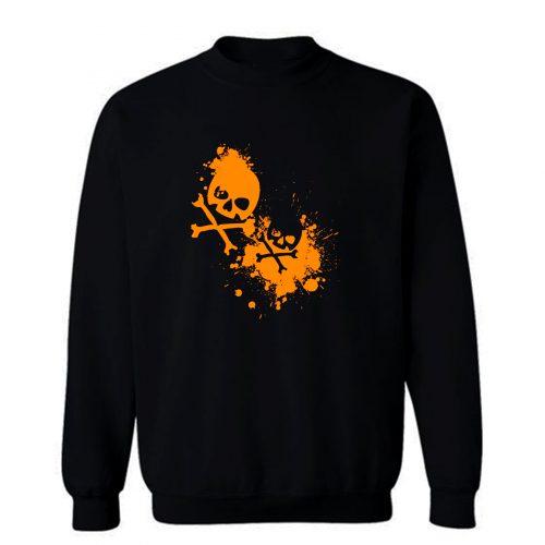 Graffiti Skulls Sweatshirt