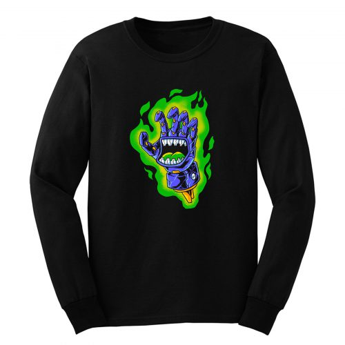 Green Aura Long Sleeve