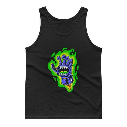 Green Aura Tank Top
