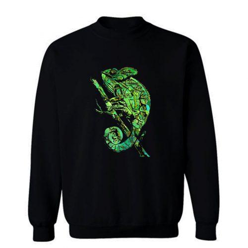 Green Chameleon Sweatshirt
