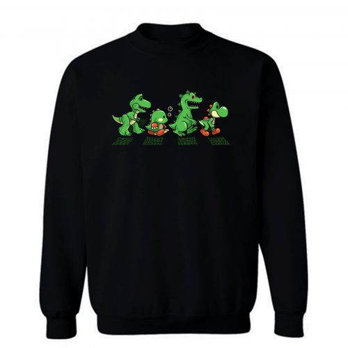 Green Scaly Road Sweatshirt