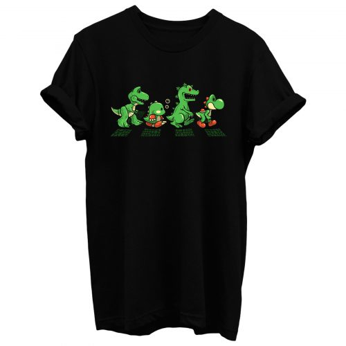 Green Scaly Road T Shirt